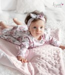 Cotton baby girl dress Roses