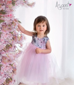 Baby girl dress Rose LIGHT PINK