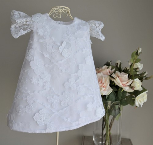 b7b9243b9a Koronkowa sukienka do chrztu Gaja Asanti For Kids